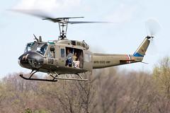 N823LW (✈ Greg Rendell) Tags: 1966 belluh1hiroquois huey n823lw private aircraft aviation brandywineairport chopper flight gregrendellcom helicopter koqn n99 oqn pa pennsylvania spotting westchester westchesterairport libertywarbirdassociation