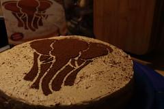 Marula Torte (dididumm) Tags: marulatorte torte baking homemade elephant yummy elefant selbstgemacht backen