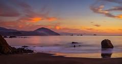 Port Orford Sunset (Manuela Durson) Tags: oregon oregoncoast clouds cloudscape color colors landsacpe nature ocean portorford sea sunset water port orford