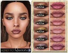 HoneyPot GENUS Queen Collection (honeypot.beauty) Tags: secondlife gaming avatar beauty fashion makeup cosmetics lips eyes gloss eyeshadow lipstick trends
