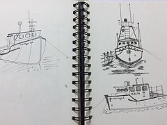 I love all those photos from Mr. Dennis Jarvis. love those boats, lighthouse etc, here is my quick sketch on that. Need to some water color (JO'S OWN) Tags: micron tamilan natural boats lighthouse