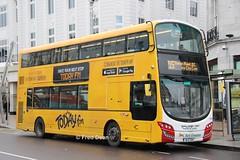 Bus Eireann VWD42 (151C7159). (Fred Dean Jnr) Tags: buseireann vwd42 151c7159 cork january2019 wrap todayfm volvo wright wrightbus eclipse gemini3 buseireannroute215 alloverad