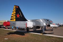 170408_107_SnF_CF5D_N115DV (AgentADQ) Tags: sun n fun flyin expo air show airshow airplane plane military aviation warbird lakeland florida 2017 canadair cf5d n115dv