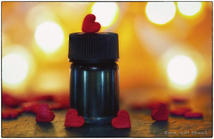 Love Potion Number 9 (scottnj) Tags: 365the2019edition 3652019 day43365 12feb19 potion love lovepotion 9 bokeh scottnj scottodonnellphotography heart hearts candyhearts valentine happyvalentinesday valentinesday emotion romance macro potionbottle bottle flickrfriday candysprinkles cupcakesprinkles
