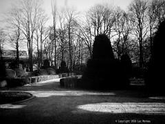 L'orangerie (Spotmatix) Tags: ancient architecture belgium builtin camera charleroi effects hainaut landscape lens monochrome places smartphone urban