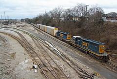 CSX 4384, M779, Harding Rd, Nashville, TN, 02-04-19 (mikeball1374) Tags: csx radnoryard nashville tennessee sd403 standardcab m779 train transportation trainphotography trains railfanning railroad photography freighttrain emd