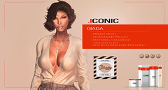 ICONIC_GIADA_SAT_BANNER (Neveah Niu /The ICONIC Owner) Tags: giada secondlife sale saturday 3dmesh 3dart 3d mesh iconic iconichair iconiccouture