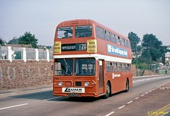 EOD 531D National Bus Company NBC Devon General 531 Leyland Atlantean with Willowbrook body at Paignton Aug79 (Copy) (focus- transport) Tags: buses coaches national bus company nbc east midlands western welsh united wessex trent red white yorkshire devon general bristol kent wilts dorset london counties lincolshire road car alder valley crosville southdown west northern leyland leopard olympian tiger cub atlantean willowbrook eastern coachworks ecw plaxton park royal alexander roe mcw metrocammell mw ld lodekka vrt ls5g sc4lk rell6g daimler fleetline crg6lx aec renown