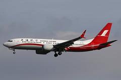 B-1152 BKK 14.12.2018 (Benjamin Schudel) Tags: b1152 shanghai airlines boeing 737 max 8 bkk bangkok international thailand airport