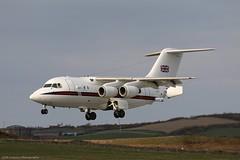 RAF BAe 146 CC2 ZE701 at Isle of Man EGNS 27/03/19 (IOM Aviation Photography) Tags: raf bae 146 cc2 ze701 isle man egns 270319