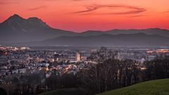 Salzburg (f.s.salz) Tags: nachtaufnahme langzeitbelichtung heuberg salzburg austria