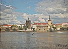 Vistas de Praga (bruixazul poc a poc...) Tags: ciudad vistas río praga moldava texturas amoralarte ciudadesconrío