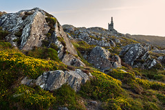 Bearhaven Coppermines (disused)  - Allihies - Beara Peninsula - Ireland 2018 (Wilma v H- running behind a bit Sorry!) Tags: allihies copper coppermineallihies rocks gorse wildflowers wildatlanticway bearapeninsulaireland mountains slievemiskishmountains sunrise ireland 2018 cocork westcork rocky irishlandscape eire canoneos60d tokinaatx1228f4prodx yellowflowers bearhavencopperminesdisused caminches coom mines coppermines luminositymasks tkactionsv6panel holiday rockylandscapes rockiness