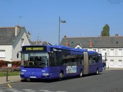 Irisbus Agora L €3 n°491 (ChristopherSNCF56) Tags: bus articulé irisbus agora l 491 réseau filbleu transport urbains saintpierredescorps tours