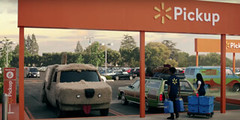 FUNNY WAL MART Commercial............... (bike-R) Tags: cars commercial spoofs humor whimsy mart wal movies tv funny
