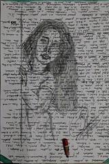 Donde te escondes ... Bocetos. Dibujos en papeles usados . .  #zaragoza #art #dibujos #drawing #painting #artlovers #dailyart #artoftheday#painter #artofinstagram #draw #crayon  #portrait #woman #bellezza  #beautifulgirl  #artwork #artsy #instaart#hair#ey (egc2607) Tags: eyes artwork artsy art bw sketchbook artphoto hair artlovers artoftheday photography bellezza artist painter painting ojos instaart drawing zaragoza dailyart beautifulgirl portrait dibujos woman crayon yeux artofinstagram draw