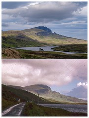 Old Man of Storr from the roadside Isle of Skye May 2017 (nztony) Tags: portree scotland unitedkingdom
