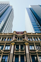 (VirtualWolf) Tags: australia building cbd canonef35mmf14lusm canoneos5dmarkiv flora modern newsouthwales sydney sydneycity trees vintage