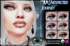 An Unexpected Journey Eyes Display (Yukio_Ida) Tags: lotr tolkien second life sl hobbit thorin frodo sam thandruil arwen eyes omega fantasy elves human dwarves fashion avatar accessories catwa