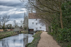 Anglesey Abbey 20th  Feb 2019 Lode Mill (Lisa missing Stella) Tags: anglesey abbey cambridgeshire national trust