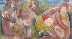 Bathers 20190220 (danielborisheifetz) Tags: art painting bathers oil oilpainting