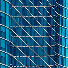 Blue-green Glass-stract (2n2907) Tags: blue green abstract architecture photo minimal glass windows building skyscraper pattern diagonal repeated repeating olympus omd mirrorless monochrome architectural dallas texas