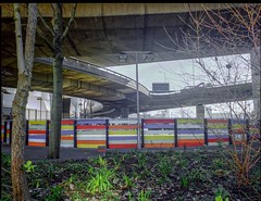 ABANDONED STABLES RING - WESTWAY AT LATIMER ROAD (Steve Mepsted) Tags: grenfell community westway westwayflyover westeleven project