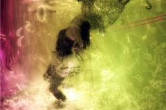 esclava del tiempo (Mau Silerio) Tags: underwater photography meikon sony alpha surreal surrealism surrealisme harlequin arlequin acrobat circus model modeling posing fashion colorful portrait