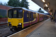 Northern Sprinter 150118 (Will Swain) Tags: station 20th september 2018 greater manchester city centre north west train trains rail railway railways transport travel uk britain vehicle vehicles england english europe salford crescent northern sprinter 150118 class 150 118