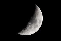 Lune premier quartier moon (freephysique) Tags: lune moon premier quartier astronomy astronomie lunette astronomique takahashi 130 nfb 1000 foyer haute résolution