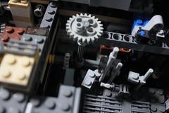12 - Mechanism (KirtonBricks) Tags: millennium falcon lego mod moc 75192 custom star wars build building bricks gun technic gear