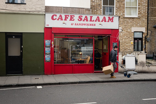 "Cafe Salaam, Notting Hill Gate, London • <a style=""font-size:0.8em;"" href=""http://www.flickr.com/photos/22350928@N02/33553453898/"" target=""_blank"">View on Flickr</a>"