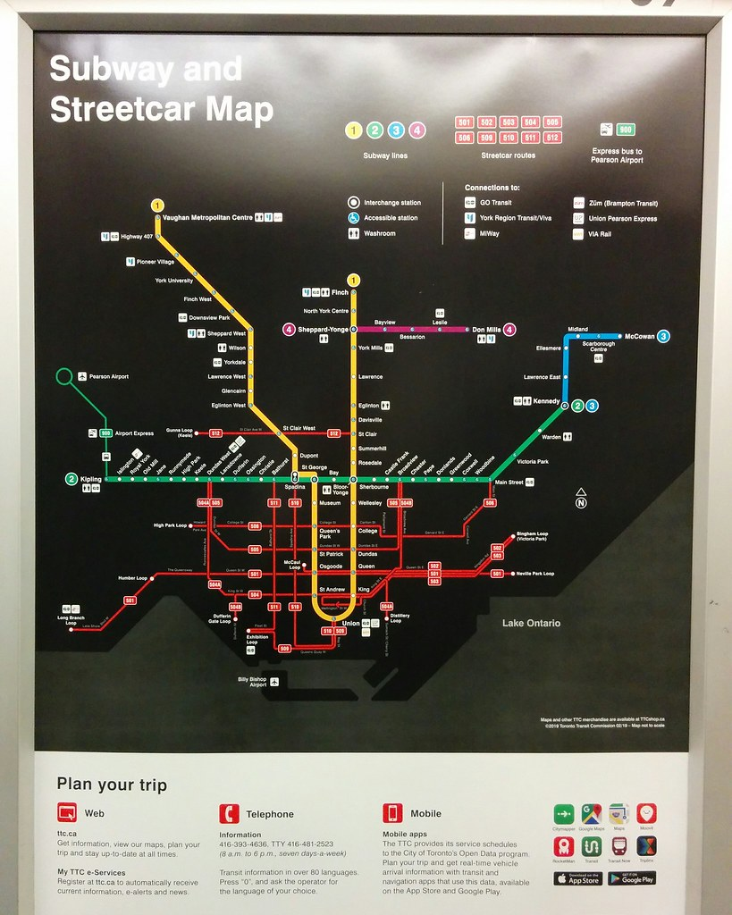 Toronto Subway Map Campbellville To Spadina On.The World S Best Photos Of Streetcars And Ttc Flickr Hive Mind