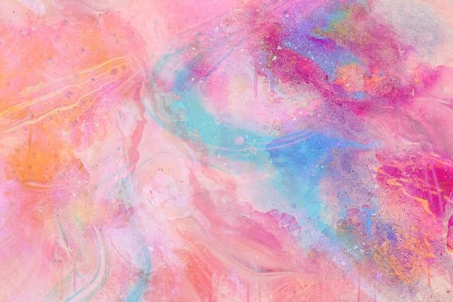 Обои краска, пятна, разводы, красочный, розовый картинки на рабочий стол, фото скачать бесплатно