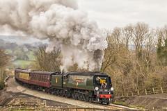 North Yorkshire Moors Railway. (Adrian Walker.) Tags: elements nymr locomotive train railway steam smoke canon80d tamron 18270 nikefex eskvally moorsline 34092