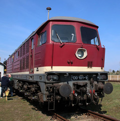 Ludmilla (Schwanzus_Longus) Tags: stasfurt german germany old classic vintage railroad railway diesel engine loco locomotive freight cargo passenger train east ddr gdr deutsche reichsbahn baureihe class br br132 232 br232 ludmilla 132