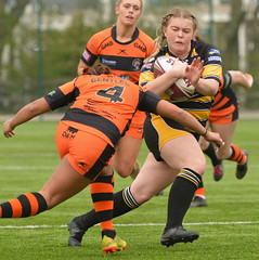The Gentles Touch (Feversham Media) Tags: yorkcityknightsladiesrlfc castlefordtigerswomenrlfc womenssuperleague rugbyleague york womensrugbyleague yorkstjohnuniversity
