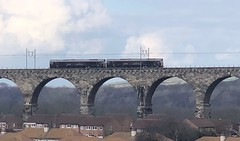 GB Railfreight 66743/66746 (10/04/2019) (CYule Buses) Tags: eastcoastmainline royalborderbridge class66 66746 66743 gbrailfreight