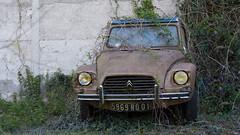 Citroen Diane (ostplp) Tags: bullet voiture car urbex exploration vintage forgotten