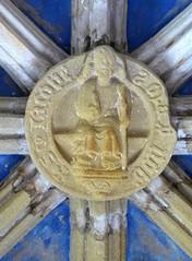 St James (Aidan McRae Thomson) Tags: tynemouth priory chapel vault vaulting roofboss bosses medieval carving tynewear