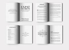 Expat-Secrets-3d (hammadkhalid8) Tags: bookdesign interiordesign pages pagedesign formatting kindle ebook epub print colorful moderndesign classic professionalbookdesigner