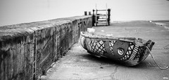 Punt with Attitude (margotpage4771) Tags: punt boats seashore