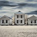 Three Houses - Newbern, Hale County Alabama (Infrared) thumbnail