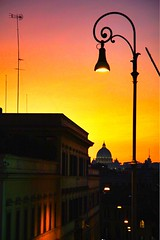 Rome | Italy (maryduniants) Tags: nightlight citylights sunset europe rome italy