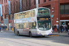 My Funny Valentine (SelmerOrSelnec) Tags: firstmanchester volvo b9tl wright mx58dzn manchester corporationstreet bus