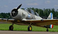 CCF AT 6H Harvard IVM n° 53802  ~ F-AZCM (Aero.passion DBC-1) Tags: 2008 meeting dijon dbc1 david biscove aeropassion avion aircraft aviation plane airshow ccf t6 harvard ~ fazcm north american texan