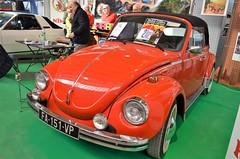 VW Coccinelle Cabriolet (benoits15) Tags: vw coccinelle beetle german red car nimes auto retro cabriolet convertible