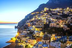 ABM (Another Blue Monday) / Positano, Amalfi coast, Italy (Unesco World Heritage)