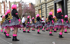 Carnaval de Verviers (Jean-Yves Ledy) Tags: verviers carnaval liège belgique jalhay rose girl fille pretty crazy poupée rue street manifestation folklore