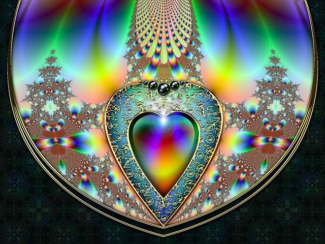 Обои сердце, светлый, яркий, разноцветный картинки на рабочий стол, фото скачать бесплатно